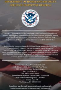 DHS OIG